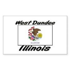 West Dundee Illinois Rectangle Decal