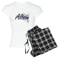 Alison Artistic Name Design Pajamas