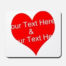Personalize It - Customize 2 Lines Of Mousepad