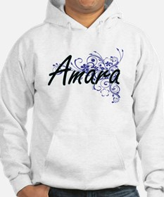 Amara Artistic Name Design with Jumper Hoody