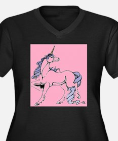 Abernathy Unicorn Deathpr Plus Size T-Shirt