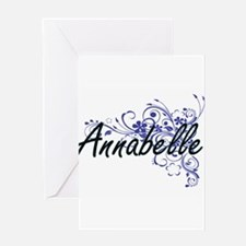 Annabelle Artistic Name Design with Greeting Cards