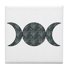 Triple Moon Tile - Brocade