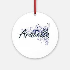 Arabella Artistic Name Design with Round Ornament