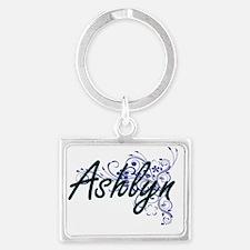 Cute Ashlyn Landscape Keychain