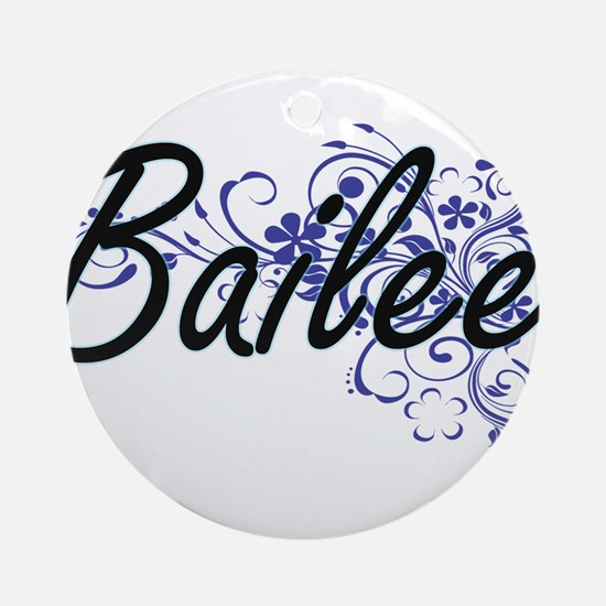 Bailee Artistic Name Design with Fl Round Ornament