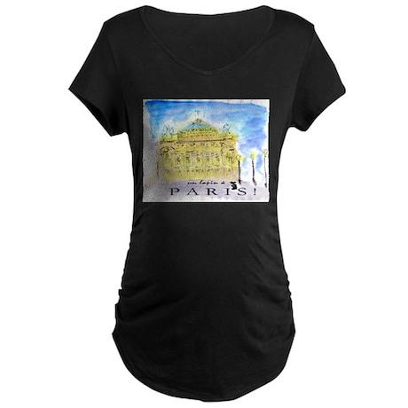 L'Opera Maternity Dark T-Shirt