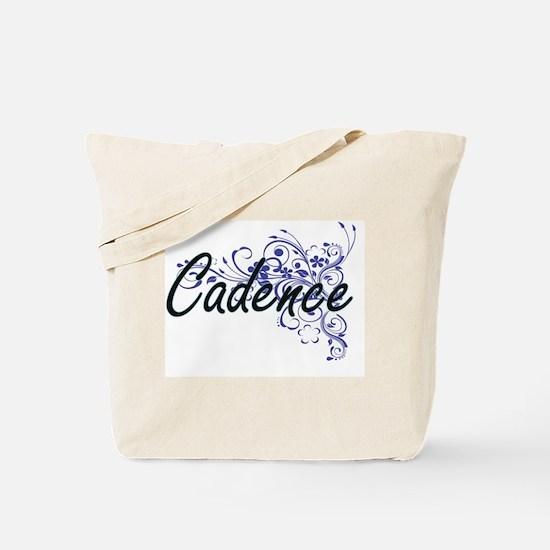 Cute Cadence Tote Bag