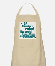 If Mothers Ruled The World BBQ Apron
