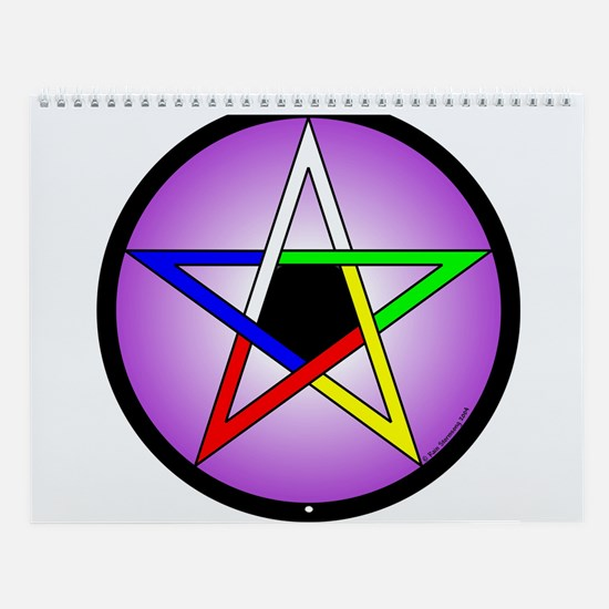 Year of Pentacles 12 Month Wall Calendar