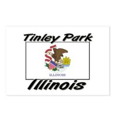 Tinley Park Illinois Postcards (Package of 8)