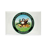 Living Organic Vermont Rectangle Magnet (10 pack)