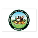 Living Organic Vermont Postcards (Package of 8)