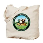 Living Organic Vermont Tote Bag
