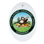 Living Organic Vermont Oval Ornament