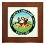 Living Organic Vermont Framed Tile