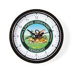 Living Organic Vermont Wall Clock