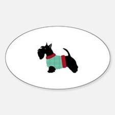 Scottie In Sweater Decal