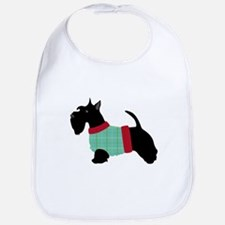 Scottie In Sweater Bib
