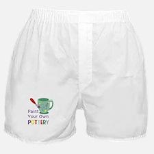 Paint Pottery Boxer Shorts