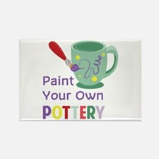 Paint Pottery Magnets