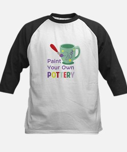 Paint Pottery Baseball Jersey