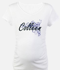Colleen Artistic Name Design wit Shirt
