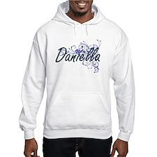 Daniella Artistic Name Design wi Hoodie Sweatshirt
