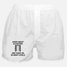 Jokes About Elevators Boxer Shorts