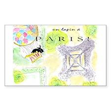 tour Eiffel Rectangle Decal
