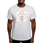 IDAHO (hand sign) Light T-Shirt