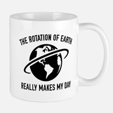 The Rotation Of The Earth Mug