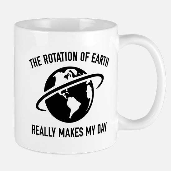 The Rotation Of The Earth Mug