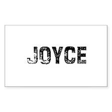 Joyce Rectangle Decal