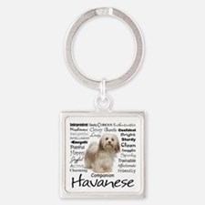 Havanese Traits Keychains