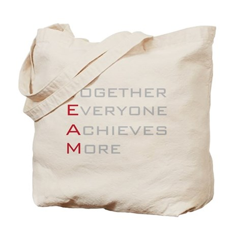 TEAM Together Everyone Achieves Tote Bag