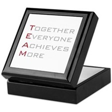TEAM Together Everyone Achieves Keepsake Box