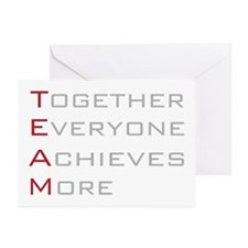 TEAM Together Everyone Achieves Greeting Cards (Pk