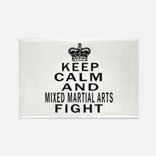 Keep Calm And Mixed martial arts Rectangle Magnet