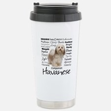 Havanese Traits Travel Mug