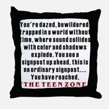 Teen Zone, 13th Gifts Throw Pillow