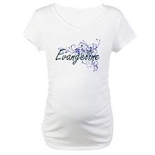 Evangeline Artistic Name Design Shirt