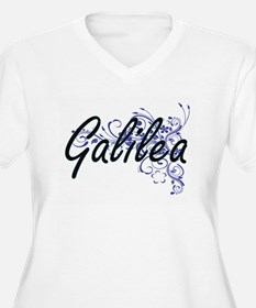 Galilea Artistic Name Design wit Plus Size T-Shirt