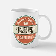 structural engineer vintage logo Mug