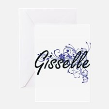 Gisselle Artistic Name Design with Greeting Cards