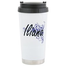 Iliana Artistic Name De Travel Mug