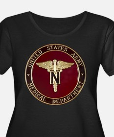Funny Army nurse corps T