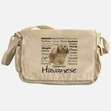 Havanese Traits Messenger Bag