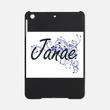 Janae Artistic Name Design with Flo iPad Mini Case