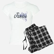 Janice Artistic Name Design Pajamas
